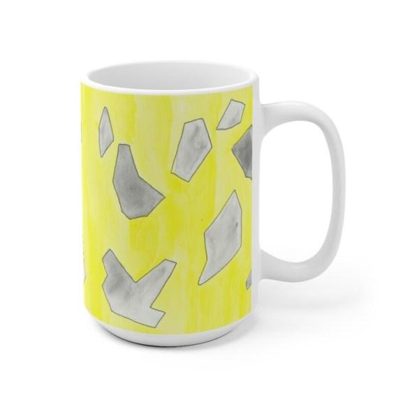 Urban Art Mug 2 sizes 20  Retro custom gift unique mugs image 0