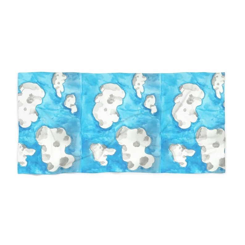 Cool Art Beach Towels 4  Retro custom gift designer image 0