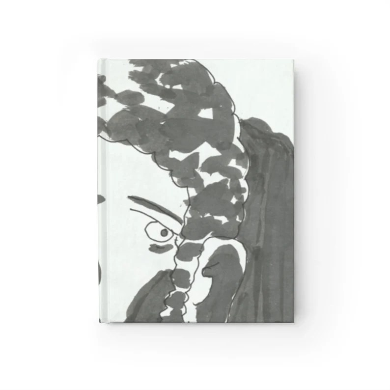 Blank Journal With Urban Art Cover 39  Retro custom gift image 0