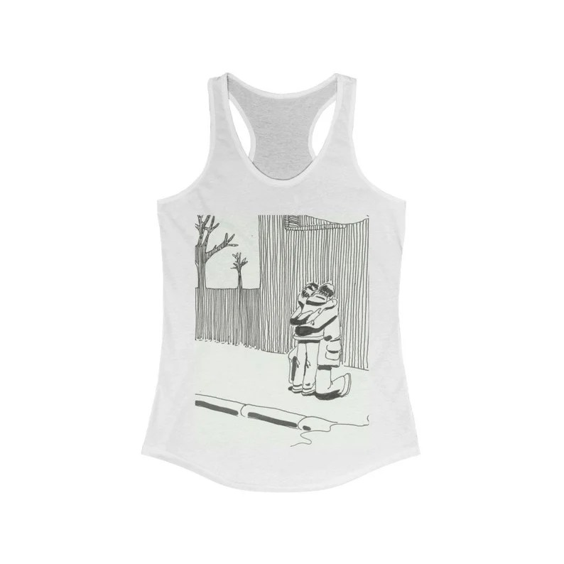 Cool Art Women's Racerback Tank 7  Retro custom gift line image 0
