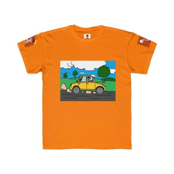 Urban Art Kids T-shirt 4  Retro custom gift gender neutral image 0