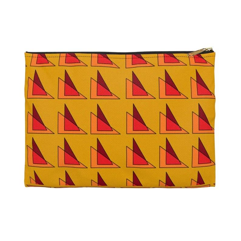 Cool Art Zipper Pouch 2 sizes 10  Retro custom gift image 0