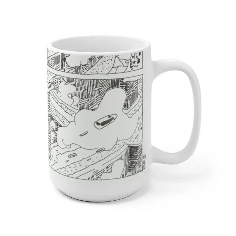 Cool Art Mug 2 sizes 73  Retro custom gift unique mugs with image 0