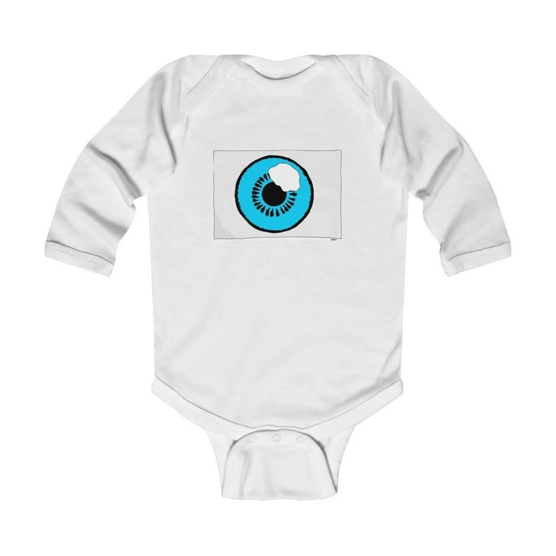 Urban Art Baby Onesie 12  Retro custom gift gender neutral image 0
