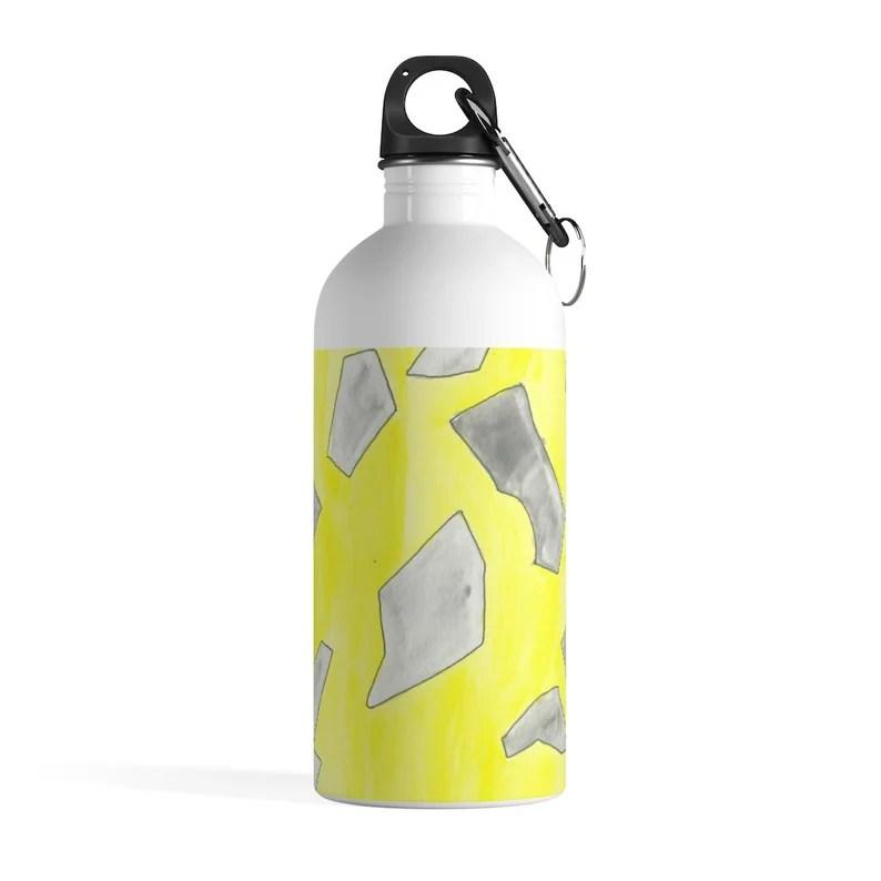 Urban Art Water Bottle 13  Retro custom gift pop art line image 0