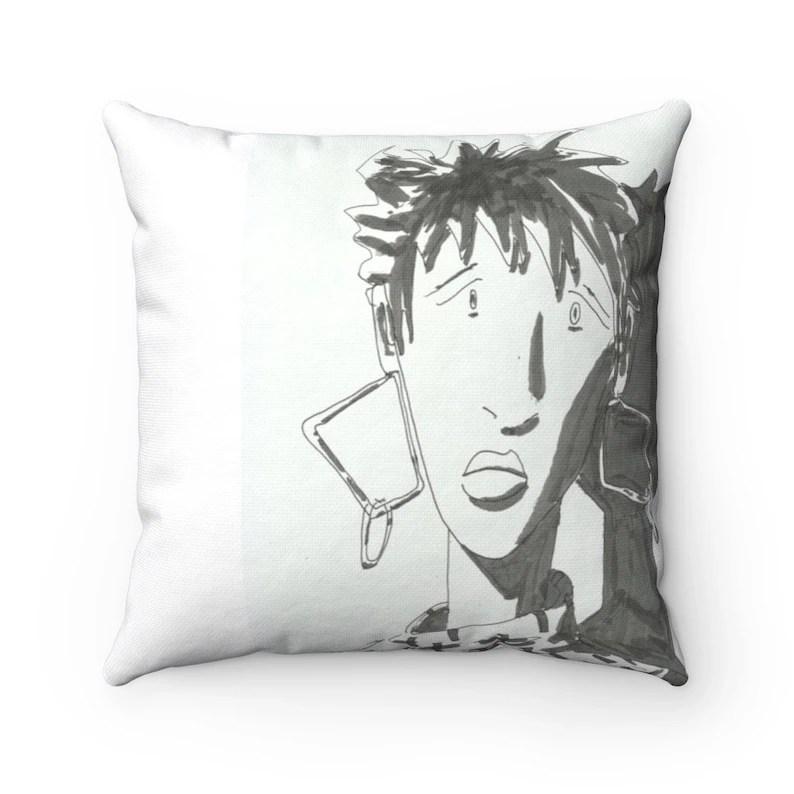 Urban Art Throw Pillows 24  Retro custom gift decorative image 0