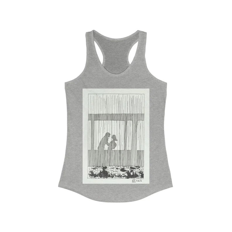 Cool Art Women's Racerback Tank 5  Retro custom gift line image 0