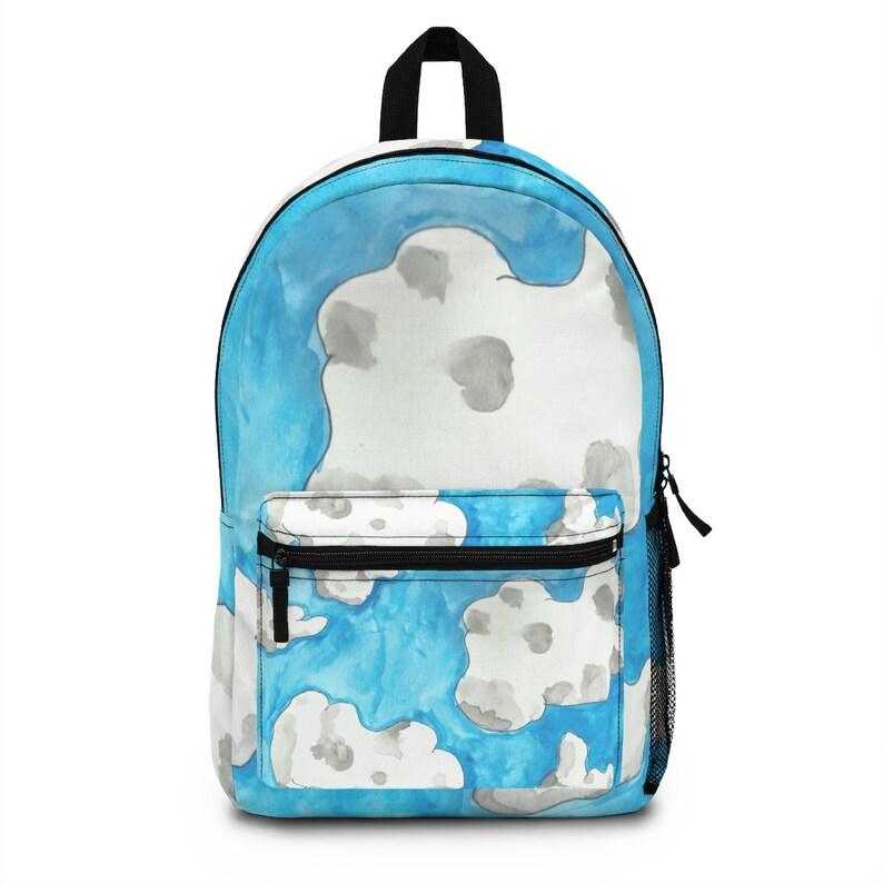 Cool Art Spun Polyester Backpack 3  Retro custom gift image 0