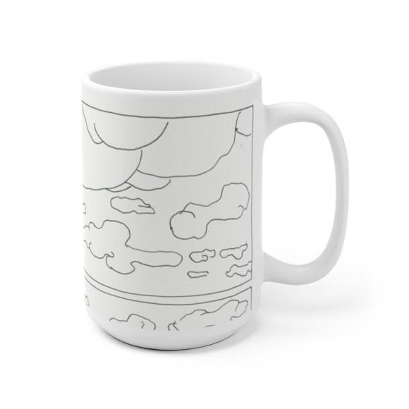 Cool Art Mug 2 sizes 70  Retro custom gift unique mugs with image 0