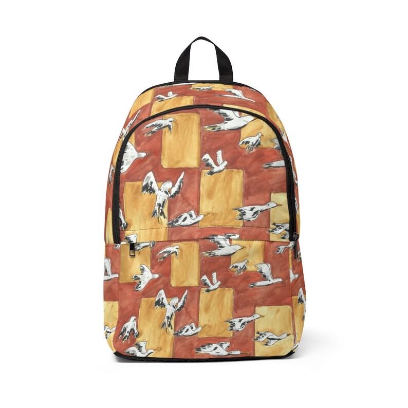 Urban Art Mid-sized Backpack 1  Retro custom gift  backpacks image 0