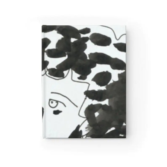 Blank Journal With Cool Art Cover 29  Retro custom gift image 0