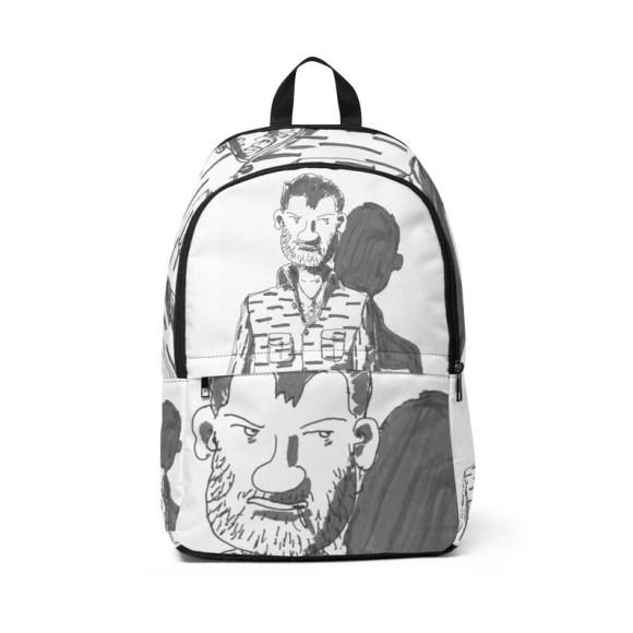 Urban Art Mid-sized Backpack 10  Retro custom gift image 0