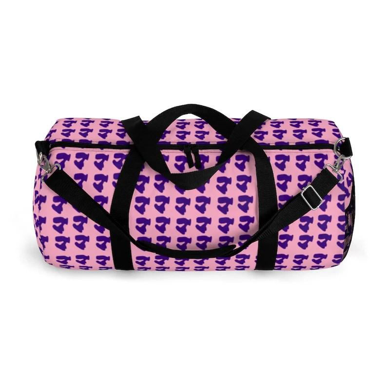 Cool Art Duffel Bag 2 sizes 6  Retro custom gift backpacks image 0