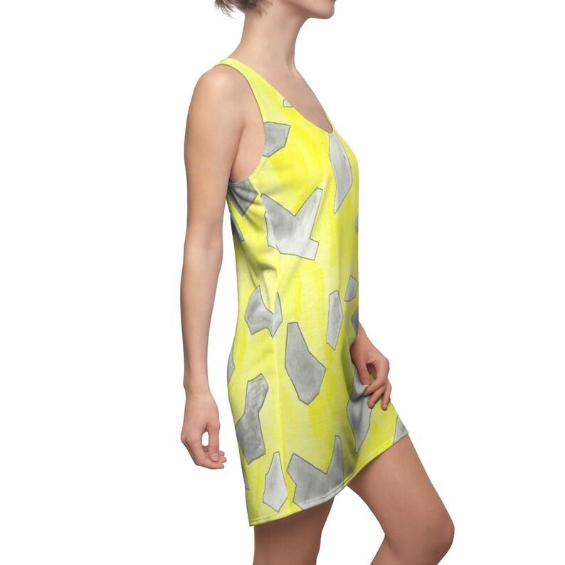 Urban Art Racerback Dress 5  Retro custom gift  dresses image 0