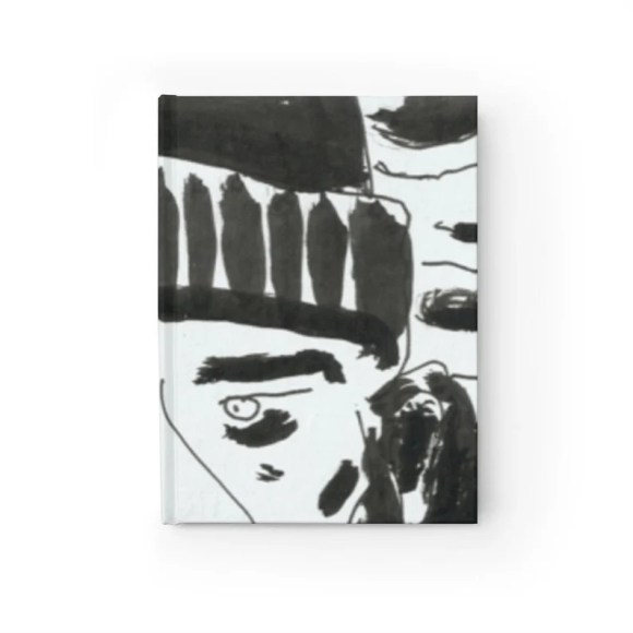 Blank Journal With Cool Art Cover 30  Retro custom gift image 0