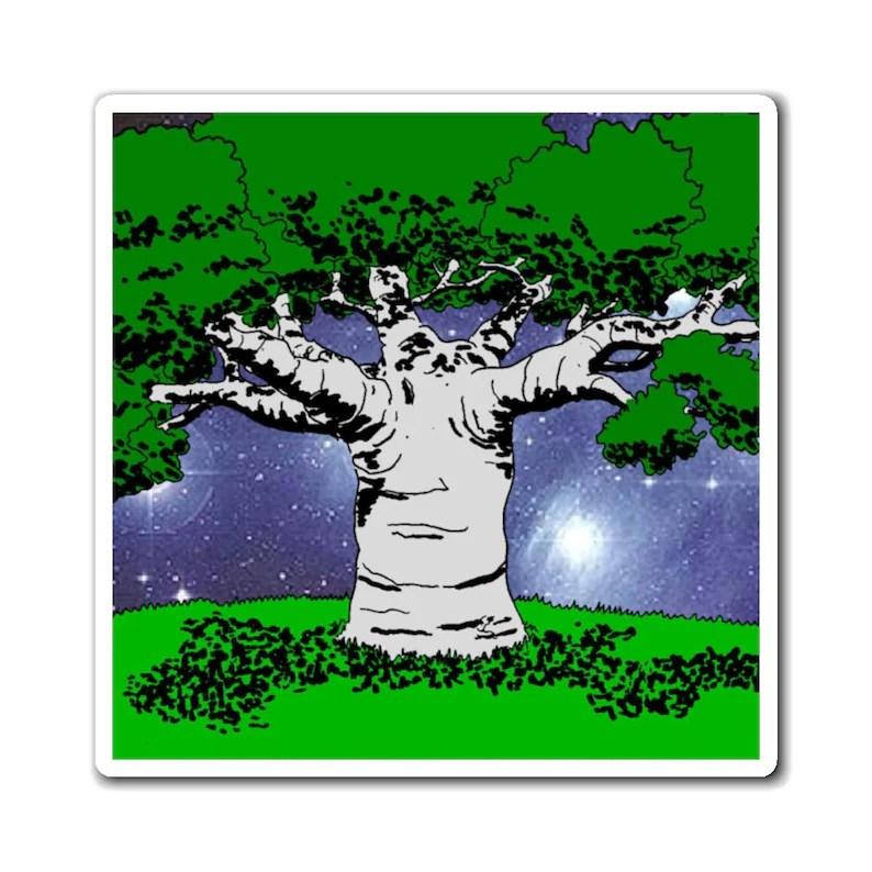 Urban Art Magnet 4  Retro custom gift line art pop art image 0