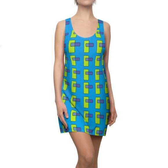 Cool Art Racerback Dress 13  Retro custom gift  dresses image 0