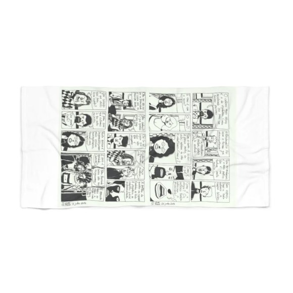 Cool Art Beach Towels 1  Retro custom gift designer image 0