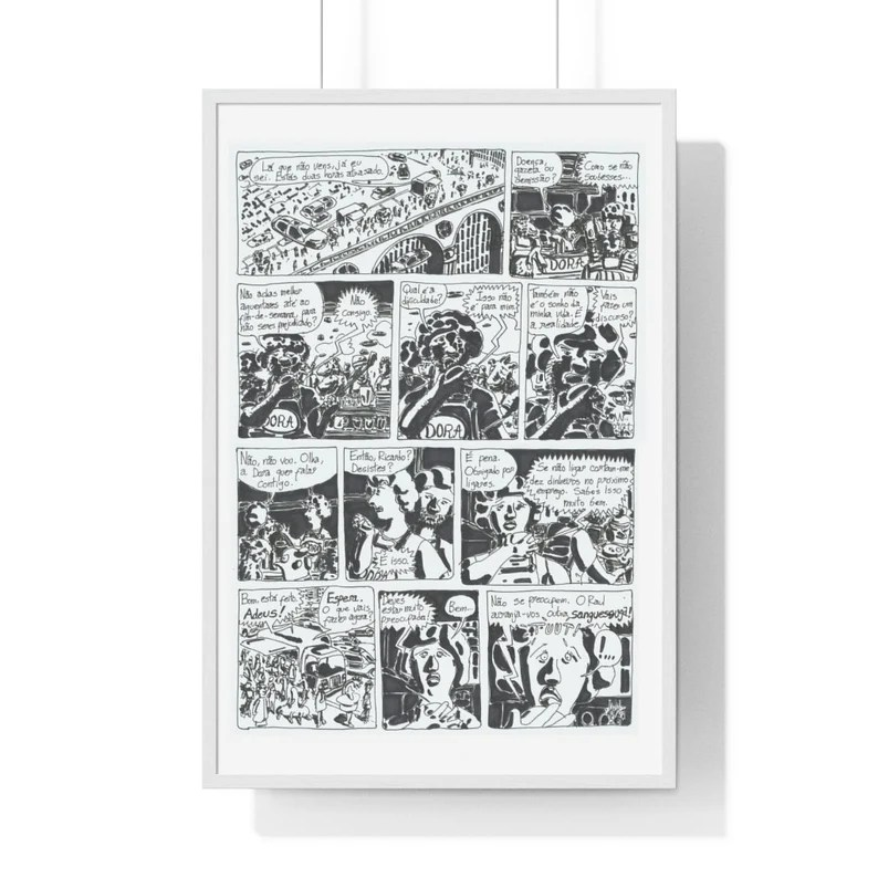 Cool Art Framed Poster 62  Retro custom gift urban pop image 0
