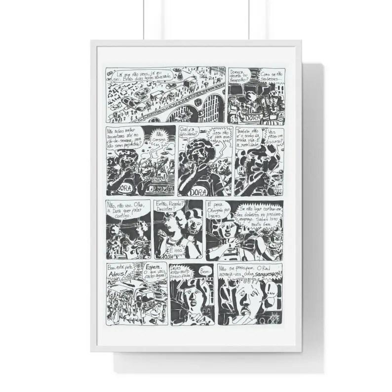 Cool Art Framed Poster 62  Retro custom gift urban pop image 0