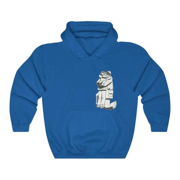 Cool Art Hooded Sweater 5  Retro custom gift aesthetic line image 0