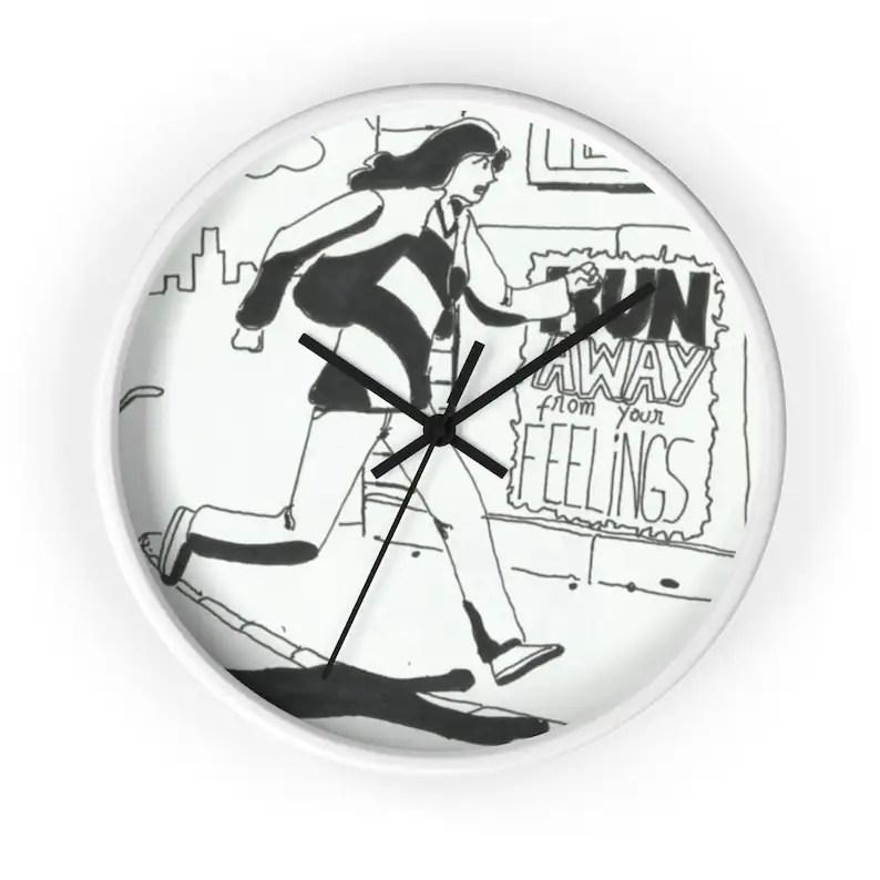 Cool Art Wall Clock 12  Retro custom gift designer image 0