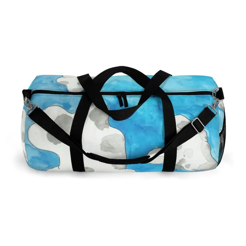 Cool Art Duffel Bag 2 sizes 5  Retro custom gift backpacks image 0