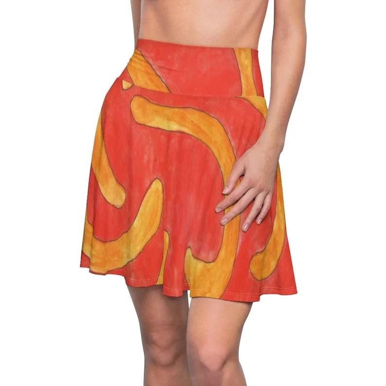 Urban Art Skater Skirt 11  Retro custom gift  skirts image 0
