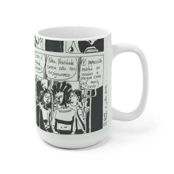 Cool Art Mug 2 sizes USA20  Retro custom gift unique mugs image 0