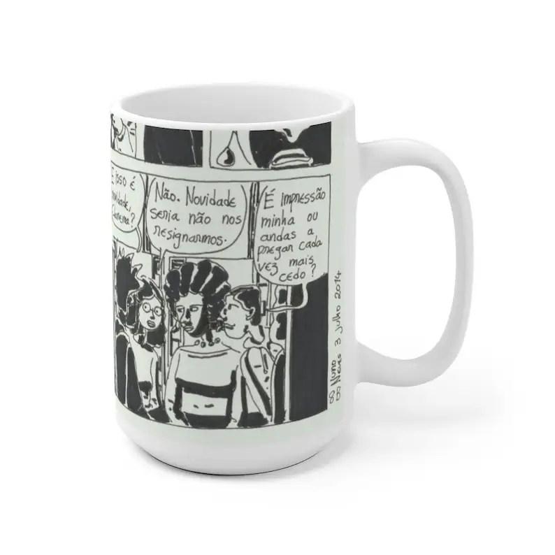 Urban Art Mug 2 sizes USA20  Retro custom gift unique mugs image 0