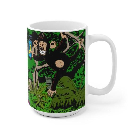 Urban Art Mug 2 sizes 32  Retro custom gift unique mugs image 0
