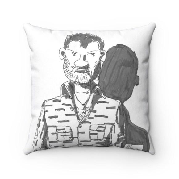 Urban Art Throw Pillows 23  Retro custom gift decorative image 0