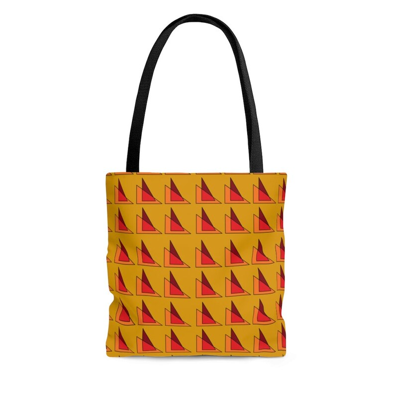 Cool Art Tote Bag 24  Retro custom gift aesthetic beach image 0