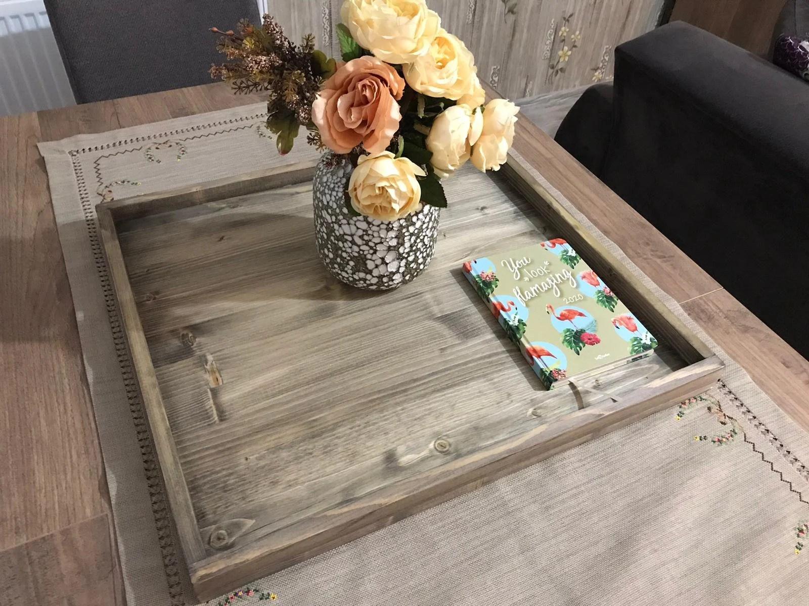 ottoman tray top etsy