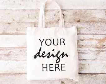Place your logo design, typography, logotypes or design elements and. Shopping Bag Mockup Etsy