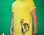 Yellow Liberty T-shirt