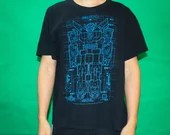 Mecha Robot Design T-shirt