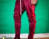 mnml Striped Zipper Track Pants