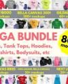 Tshirt Mockup Bundle Etsy