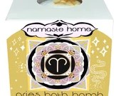 Aries Bath Bomb, Aries Gift, Fizzy Bath Bomb, Zodiac Bath Bomb, Energy Activating Bath Bomb by Namaste Home