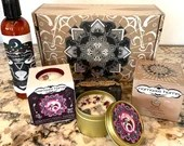 Capricorn Gift Set by Namaste Home, 4 Piece Set, Birthday, Spa Day Gift, Gift for Mom, Gift for Daughter, Friend, Baby Shower, Bath Bomb