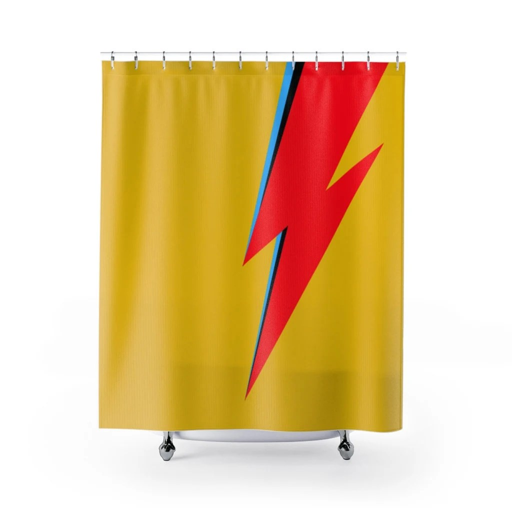 70s shower curtain etsy
