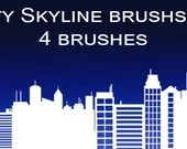 Skyline and Building Brushset