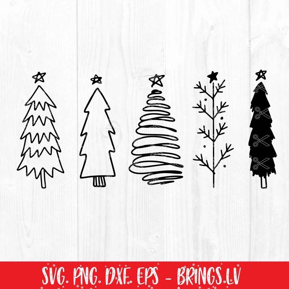 967 Etsy Christmas Tree Svg