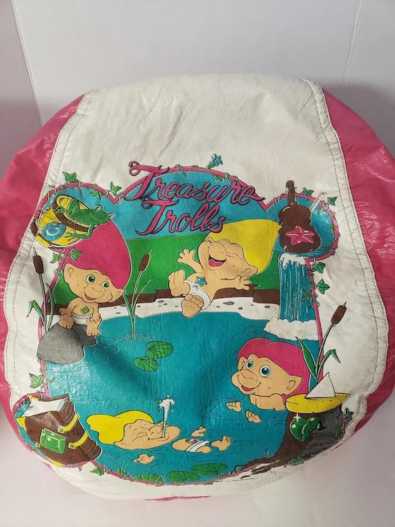 Trolls Bean Bag Chair : trolls, chair, VINTAGE, Treasure, Trolls, Chair, Novelty