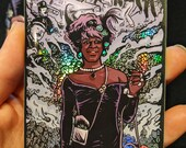 Marsha P Johnson Holographic Rainbow Sticker