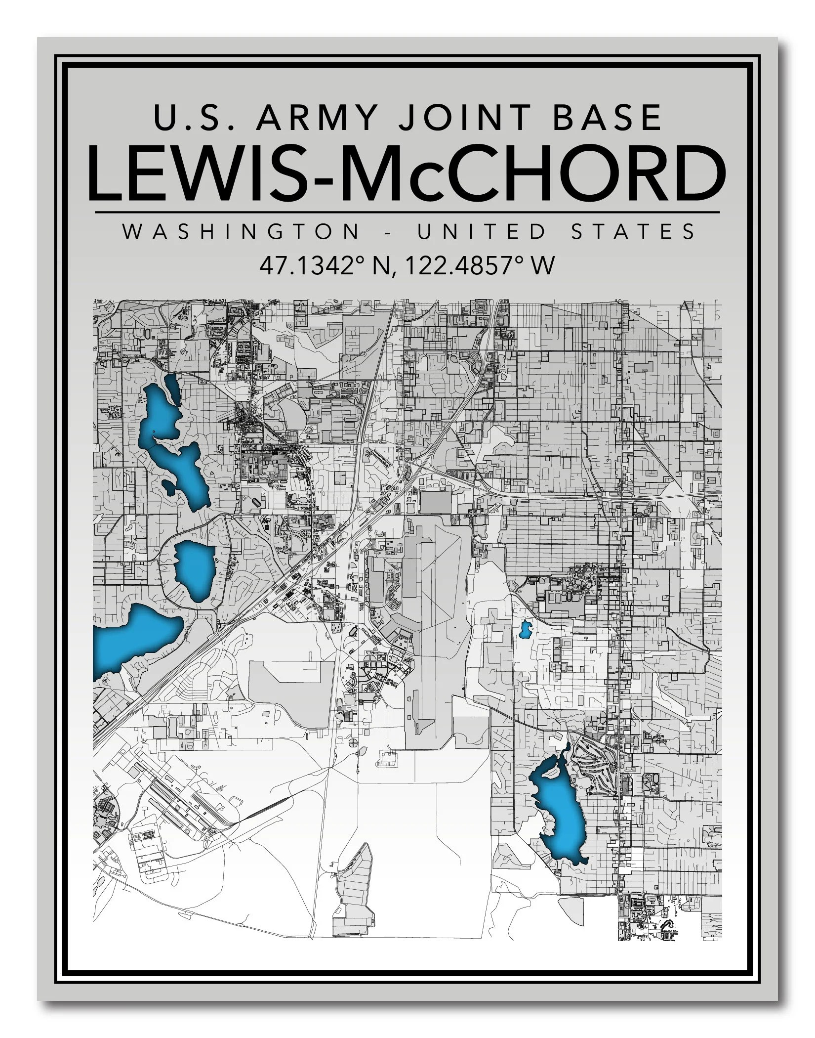 Joint Base Lewis Mcchord Map : joint, lewis, mcchord, Joint, LewisMcChord, Washington