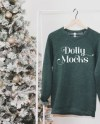 3901 Grey Triblend Mockup Christmas Sweatshirt Mockup Etsy