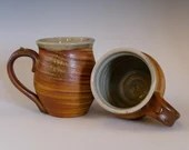 Agateware Pottery Mug