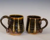 Woodfired Striped Mug
